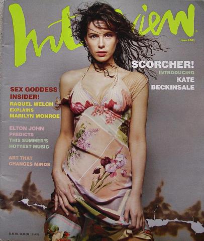 Interview Magazine June 2001