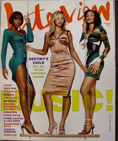 Interview Magazine August 2001