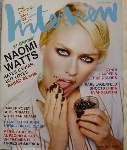 Interview Magazine December 2003