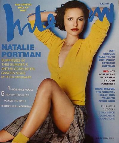 Interview Magazine July 2004