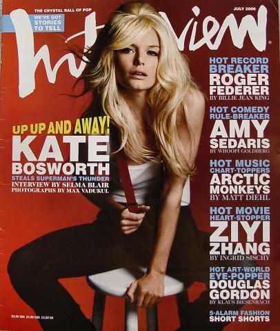 Interview Magazine July 2006