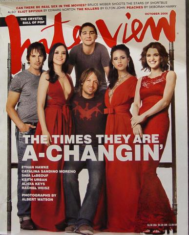 Interview Magazine October 2006