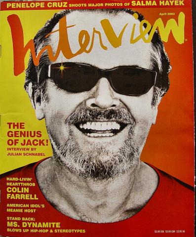 Interview Magazine April 2003