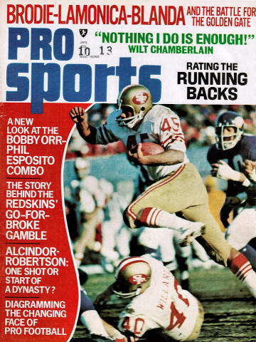 Pro Sports Magazine January 1972