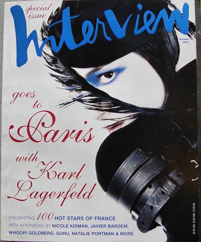 Interview Magazine October 2001
