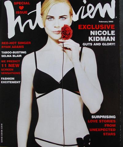 Interview Magazine February 2002