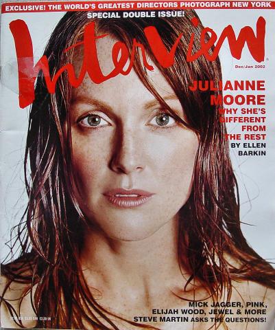 Interview Magazine December 2001