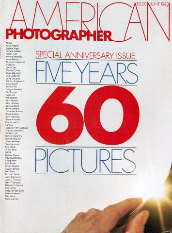 American Photographer Magazine June 1983