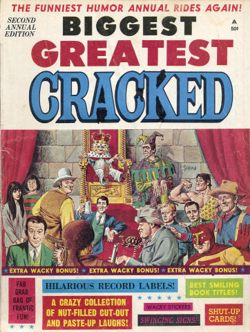 Biggest Greatest Cracked Annual Edition No. 2