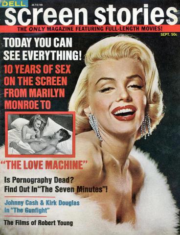 Screen Stories Magazine September 1971