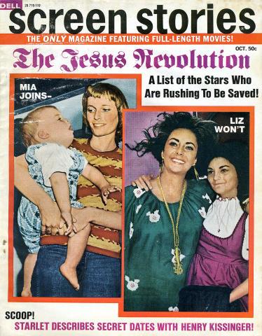 Screen Stories Magazine October 1971