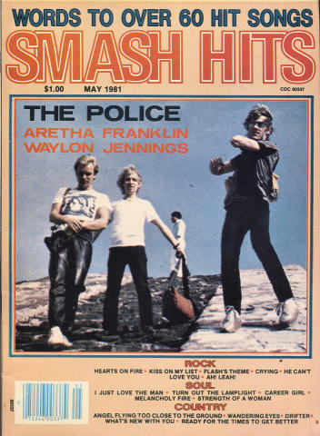 Smash Hits Magazine May 1981