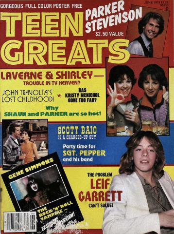 Teen Greats Magazine June 1978