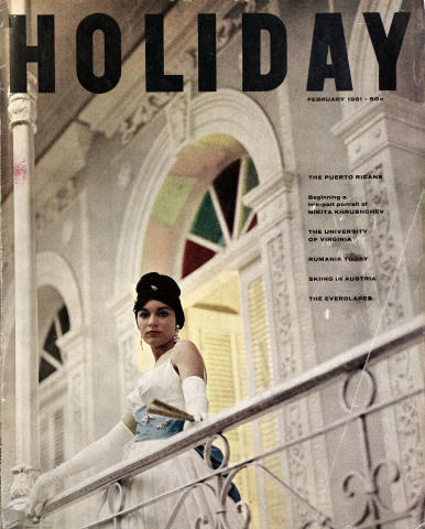 Holiday Magazine February 1961