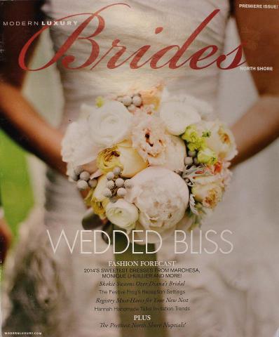 Modern Luxury: Brides North Shore Spring 2014