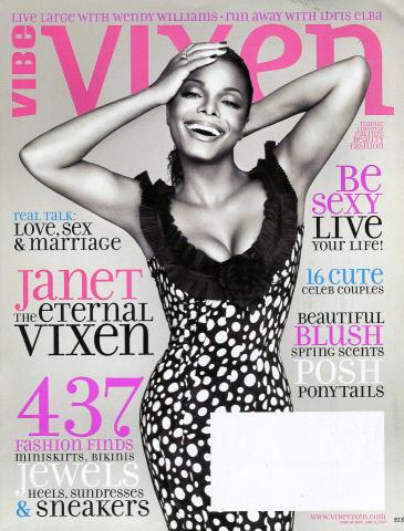 Vibe Magazine April 2007