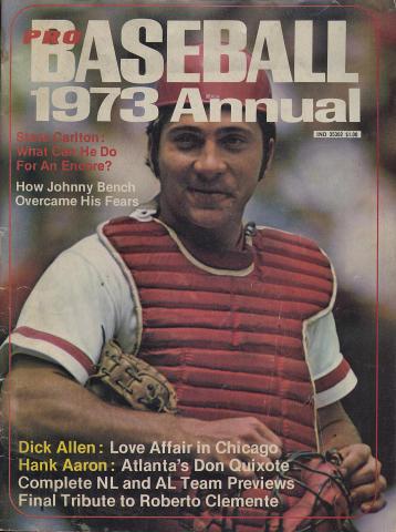 Pro Baseball Annual Vol. 1 No. 1