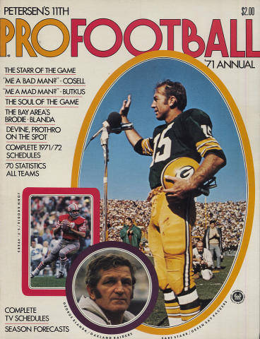 Petersen's Pro Football Annual 1971