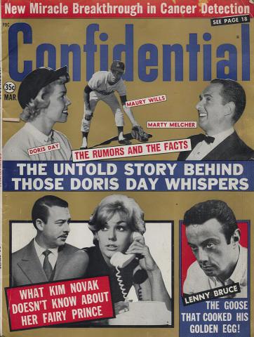 Confidential Magazine March 1963