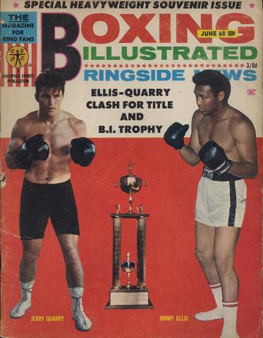 Boxing Illustrated Magazine June 1968