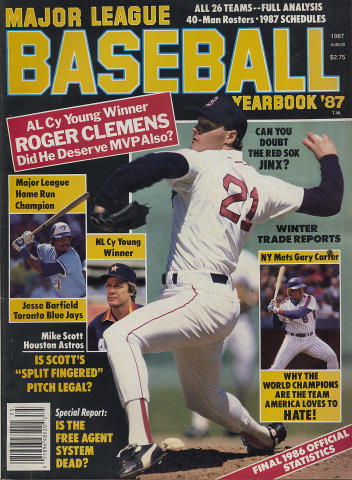 Major League Baseball Yearbook '87