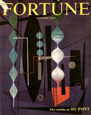 Fortune Magazine October 1950