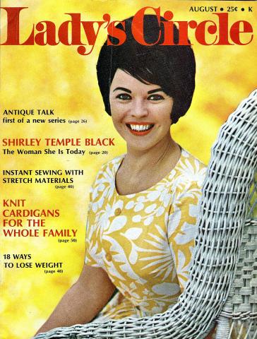 Lady's Circle Magazine August 1970