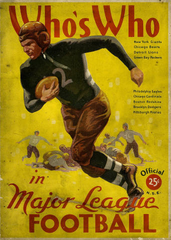 Who's Who In Major League Football: 1935 Edition