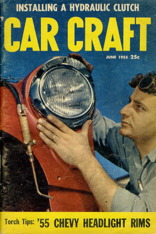 Car Craft Magazine June 1955