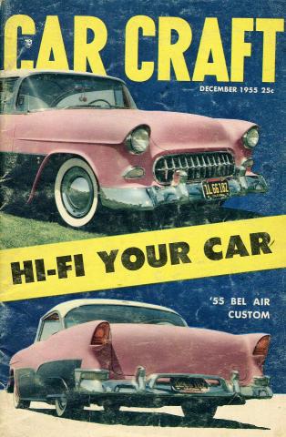 Car Craft Magazine December 1955