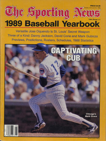 The Sporting News 1989 Baseball Yearbook
