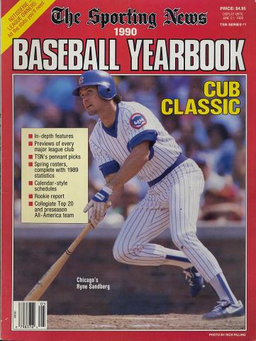 The Sporting News 1990 Baseball Yearbook