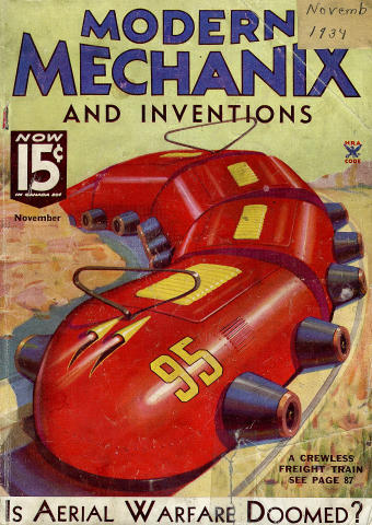 Modern Mechanics And Inventions