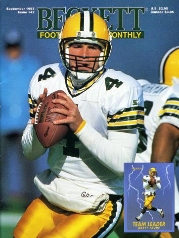 Beckett Football Card Monthly September 1993