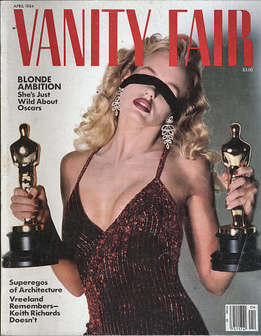 Vanity Fair Magazine April 1984