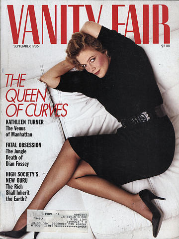 Vanity Fair Magazine September 1986