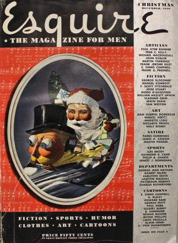 Esquire December 1, 1939
