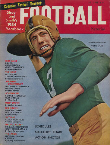 Street and Smith's Football Yearbook 1954