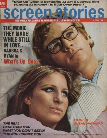 Screen Stories Magazine April 1972
