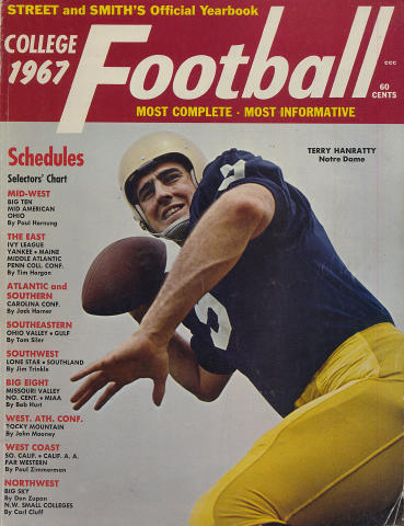 Street and Smith's College Football Yearbook 1967