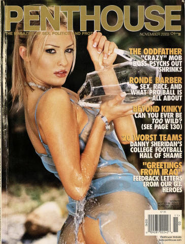 Penthouse Magazine November 2003