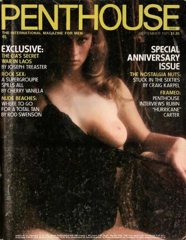 Penthouse Magazine September 1975