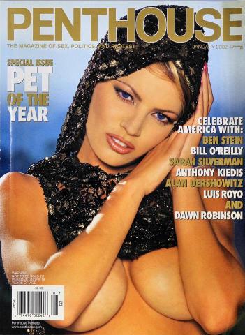 Penthouse Magazine January 2002