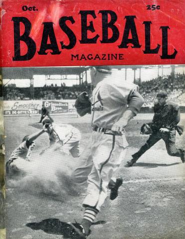 Baseball Magazine October 1950