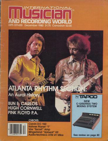 International Musician Magazine December 1980