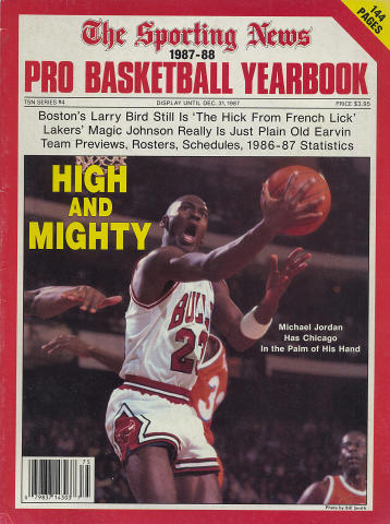 The Sporting News Pro Basketball Yearbook 1987-88