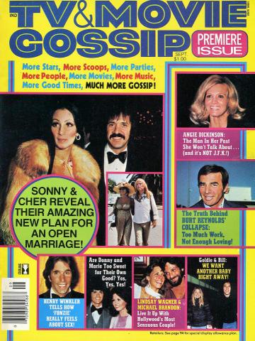 TV & Movie Gossip Magazine September 1976