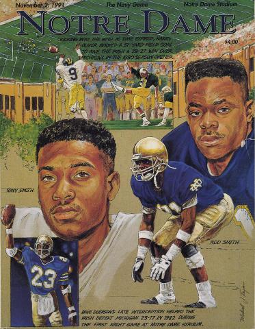 Notre Dame Magazine November 2, 1991