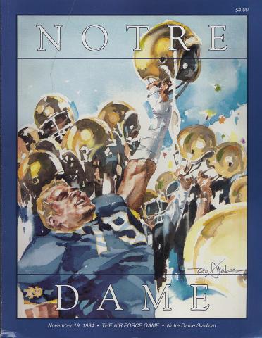 Notre Dame Magazine November 19, 1994