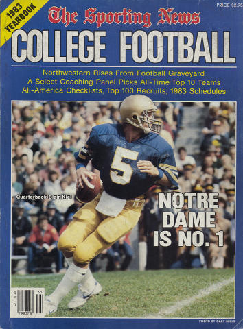 The Sporting News College Football Yearbook 1983